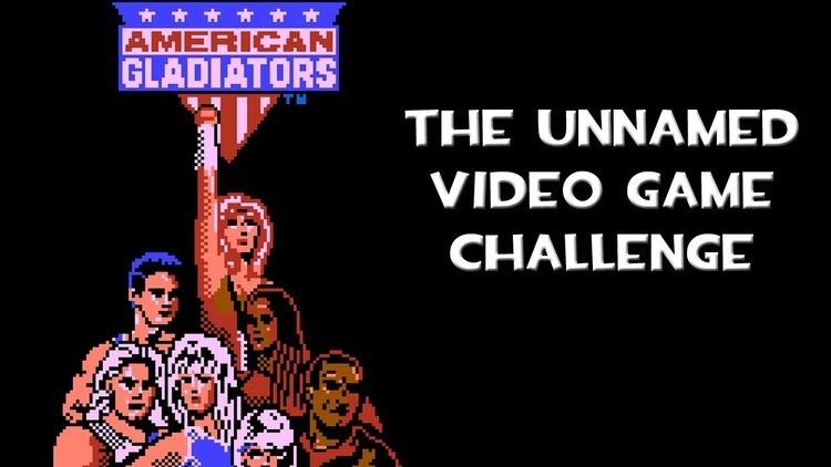 American Gladiators (video game) The Unnamed Video Game Challenge American Gladiators NES YouTube