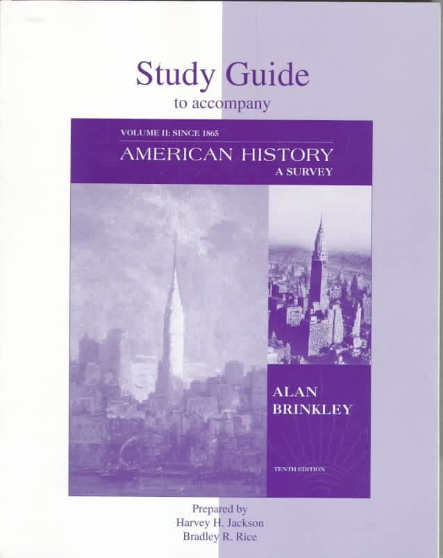 American History: A Survey t0gstaticcomimagesqtbnANd9GcRDqYypfdtH0S0O0