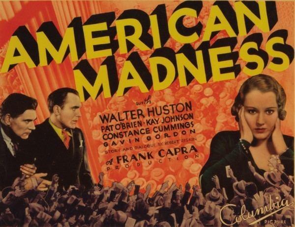 American Madness filmsgradedcom American Madness 1932