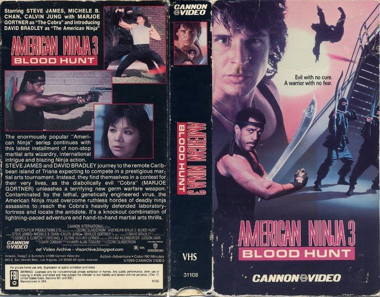 American Ninja 3: Blood Hunt American Ninja 3 Blood Hunt 1989 Movie BluRay Review YouTube