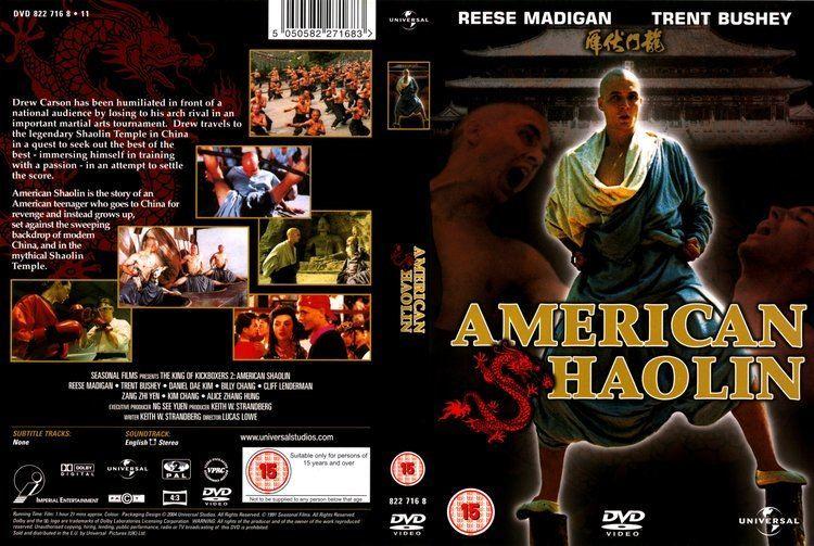 American Shaolin COVERSBOXSK American Shaolin 1991 high quality DVD Blueray