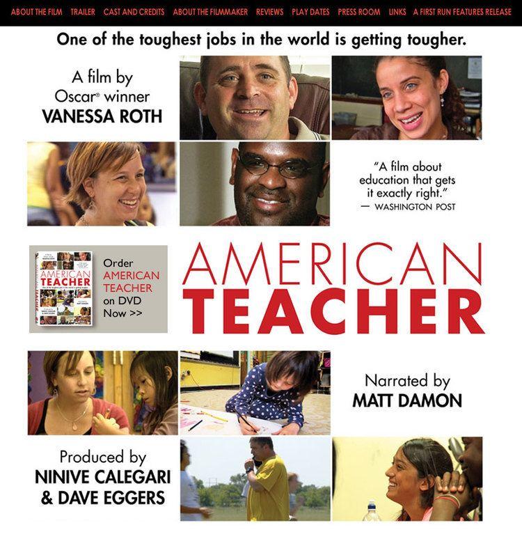 American Teacher First Run Features AMERICAN TEACHER