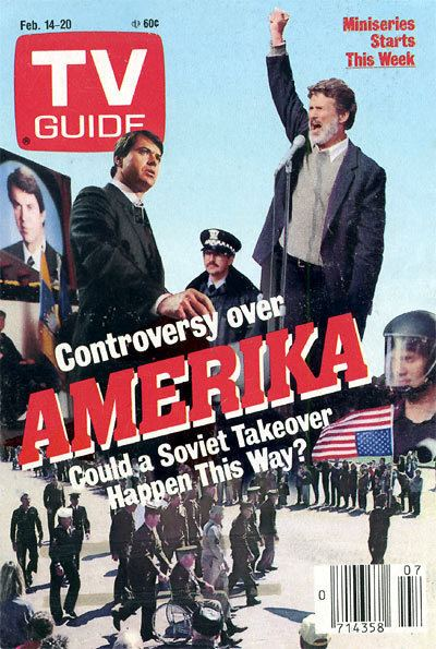 Amerika (miniseries) CONSPIRACY NIGHT AT THE MOVIES AMERIKA THE TAKEOVER Conspiracy Cafe