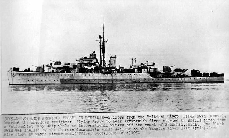 Amethyst Incident HMS Amethyst Incident Yangtze River China 1949