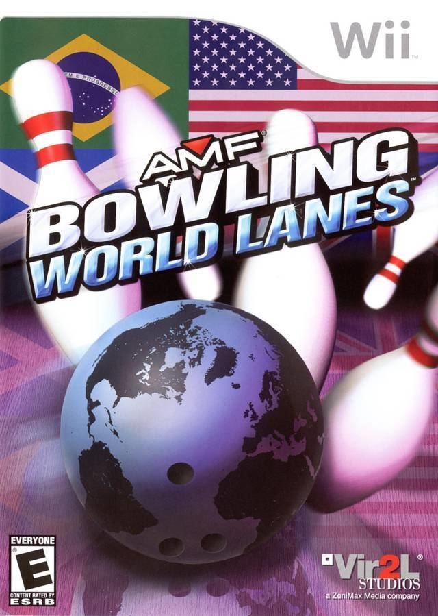 AMF Bowling Pinbusters! AMF Bowling World Lanes Box Shot for Wii GameFAQs