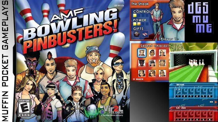 AMF Bowling Pinbusters! AMF Bowling Pinbusters Desmume Gameplay HD YouTube
