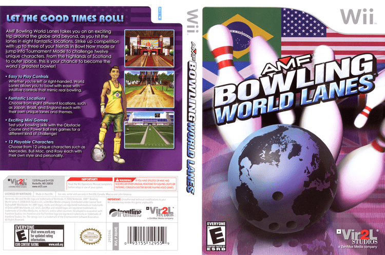 AMF Bowling World Lanes R6WE68 AMF Bowling World Lanes