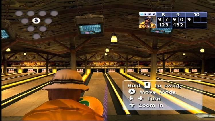 AMF Bowling World Lanes AMF Bowling World Lanes Wii Gameplay YouTube