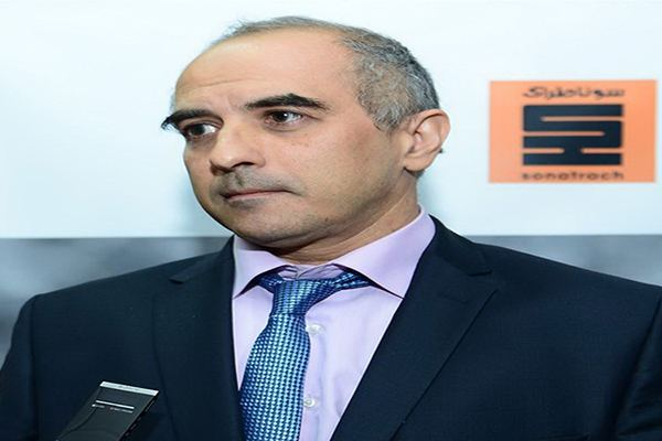 Amine Mazouzi Sonatrach CEO quotLower oil prices shouldn39t be a cause for worryquot