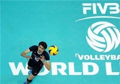 Amir Ghafour Iranian volleyball player Amir Ghafour