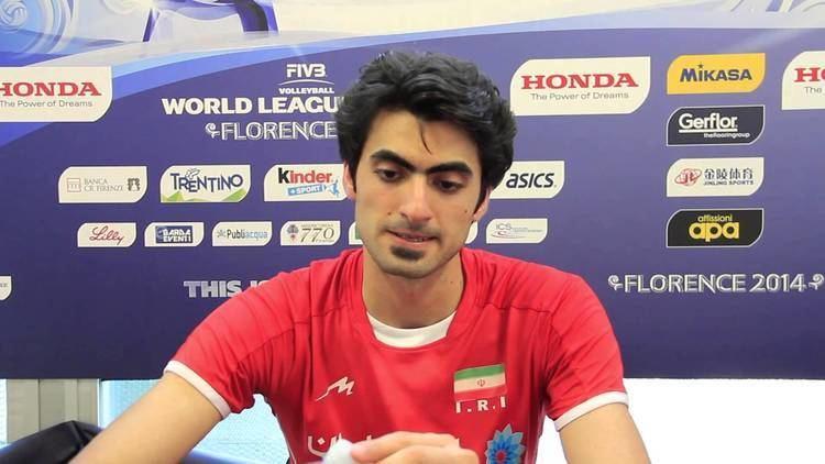 Amir Ghafour Interview with Amir Ghafour IRI Attacker 2014 FIVB World