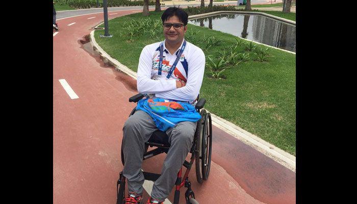 Amit Kumar Saroha Rio Paralympics Amit Kumar Saroha misses out on bronze medal in the