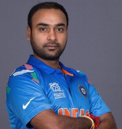 Amit Mishra (cricketer, born 1991) Amit Mishra Latest News Photos Biography Stats Batting averages