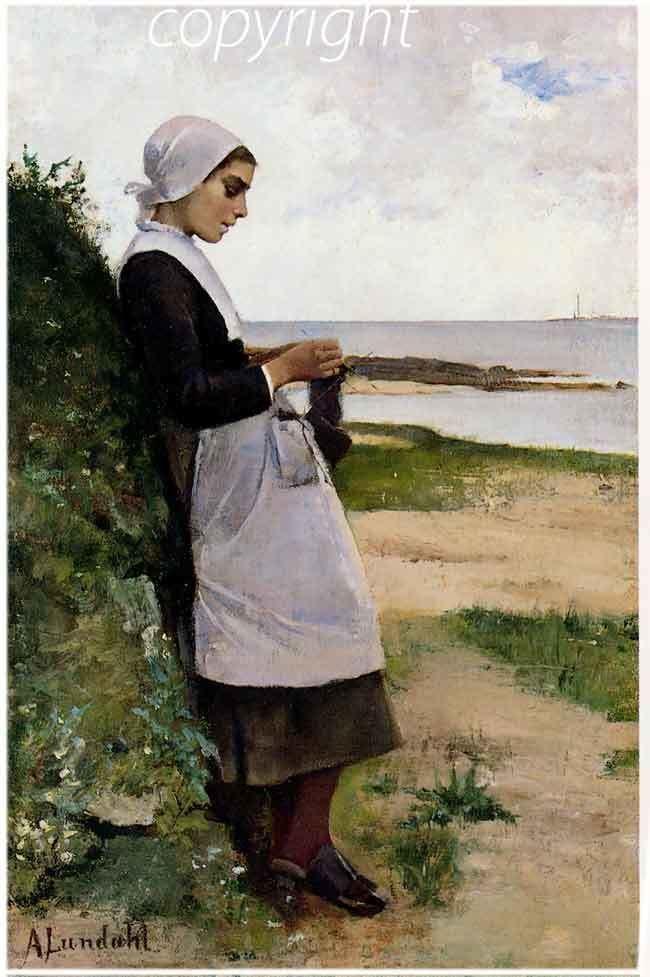 Amélie Lundahl Concarneau et ses Peintres peintres trangers Lundahl Amlie