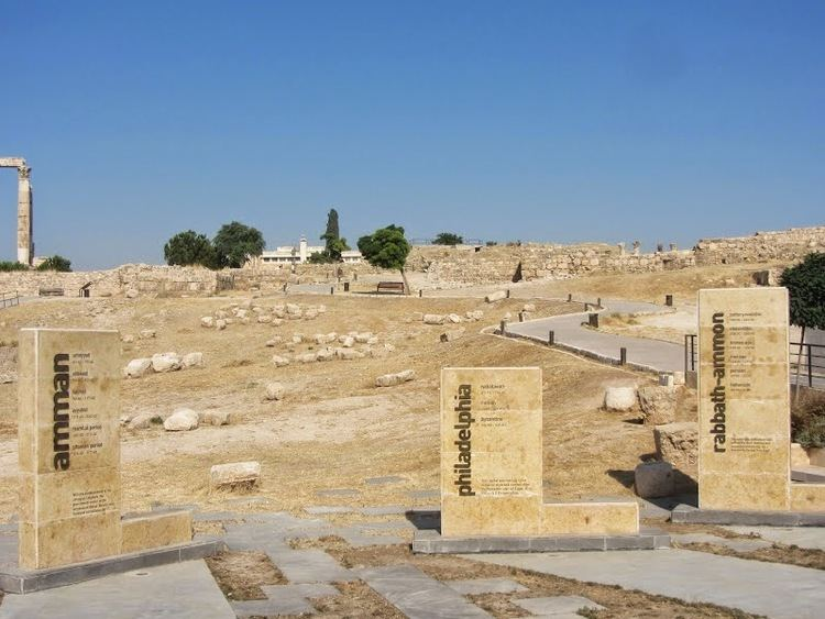 Amman in the past, History of Amman