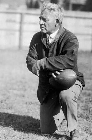 Amos Alonzo Stagg Amos Alonzo Stagg American athlete and coach Britannicacom