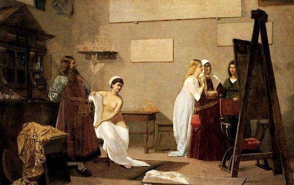 Amos Cassioli Amos Cassioli 1832 1891 Italian LA CONCHIGLIA DI VENERE