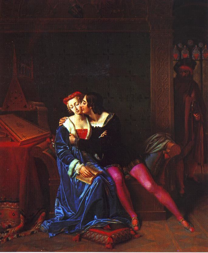 Amos Cassioli Paolo e Francesca repertorio arti visive La Botte e il