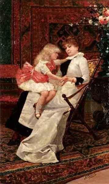 Amos Cassioli Amos Cassioli 1832 1891 Italian I AM A CHILD