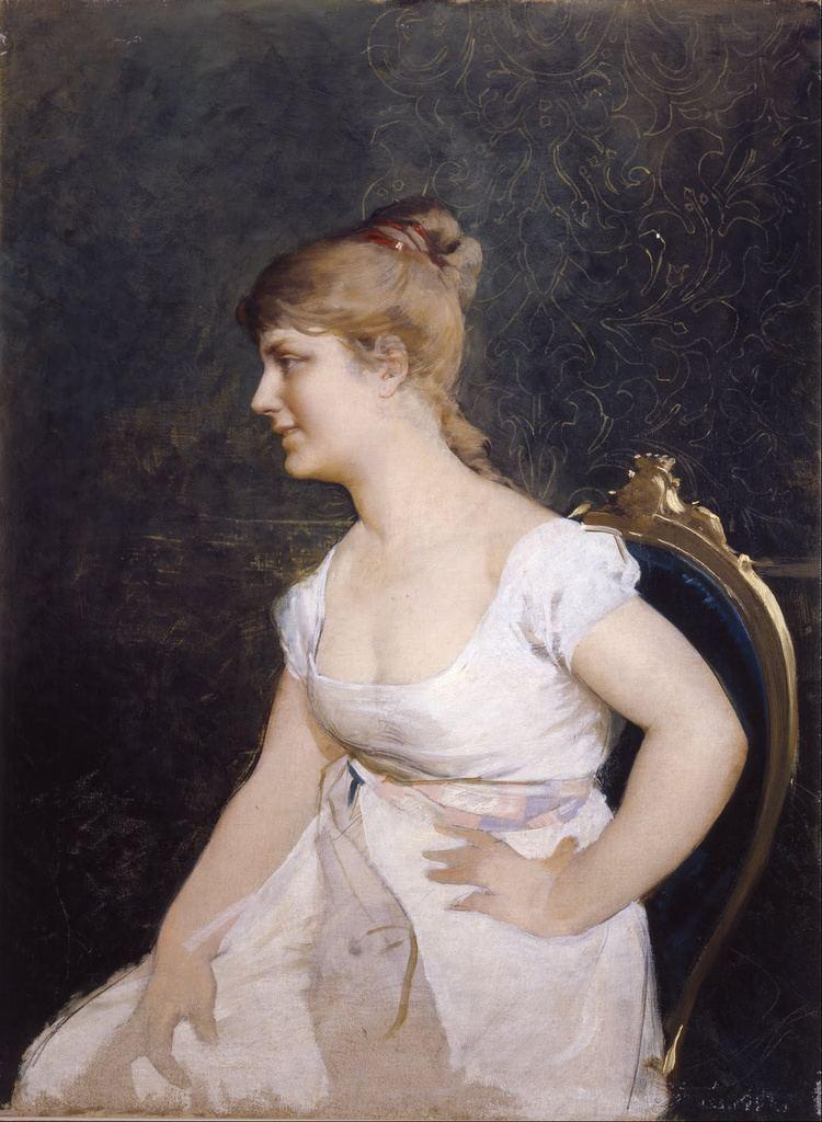 Amos Cassioli FileAmos Cassioli Portrait of a Young Lady Google Art