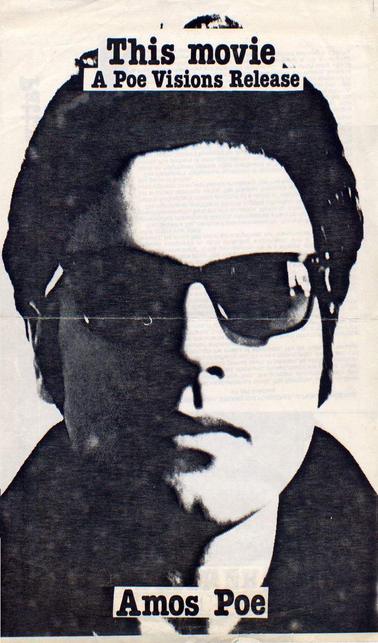Amos Poe 2 PostersFlyers 1978