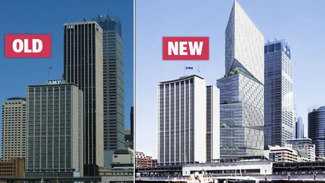 AMP Centre Danish architect set to remodel one of Sydney skyline39s ugly