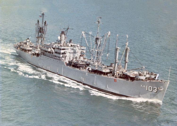 Amphibious cargo ship