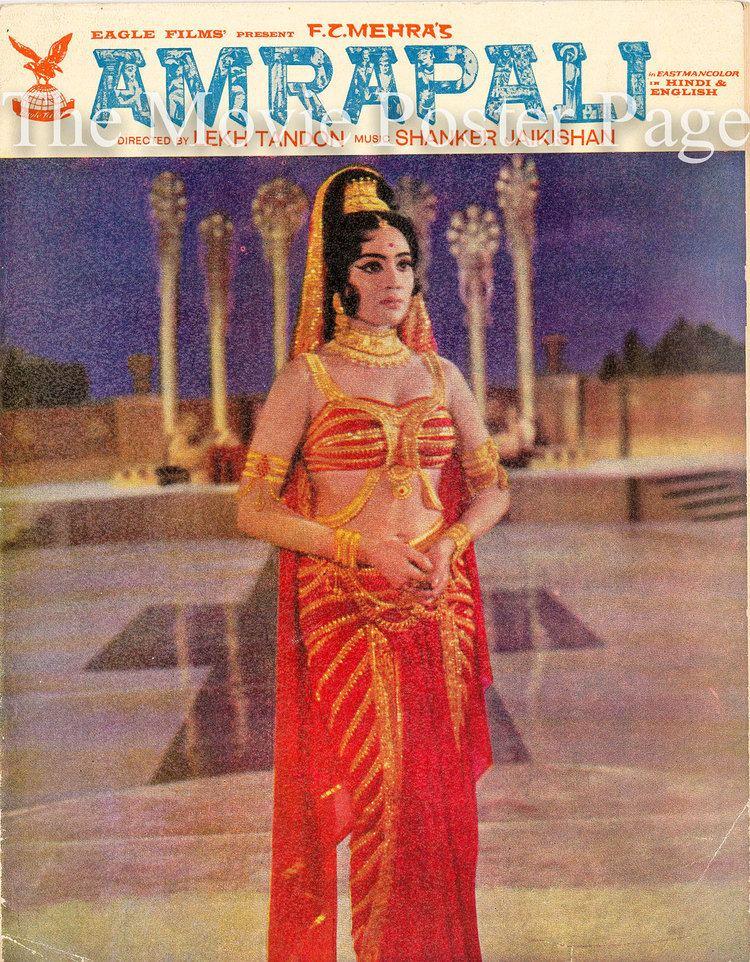 Amrapali 1966 Vyjayanthimala Indian Film program NM 65