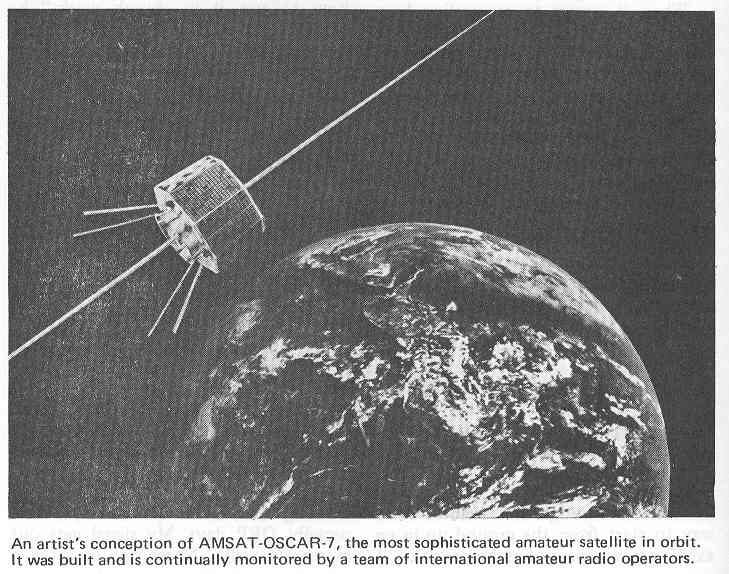 AMSAT-OSCAR 7 Amateur ham radio satellites