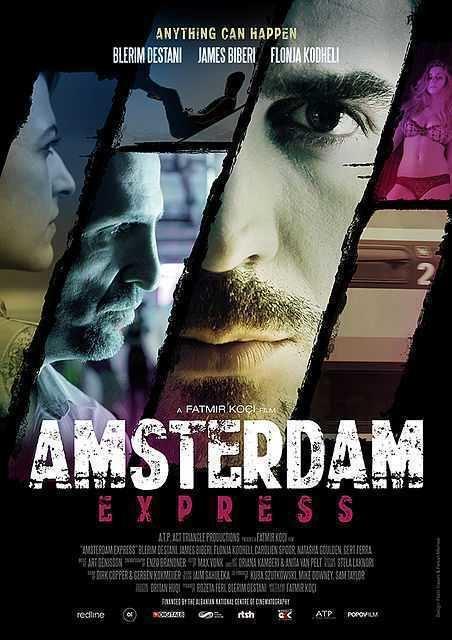 James Biberi and Blerim Destani in Amsterdam Express (2014)