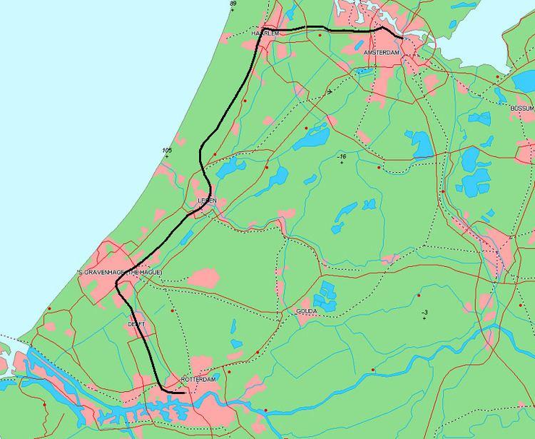 Amsterdam–Haarlem–Rotterdam railway