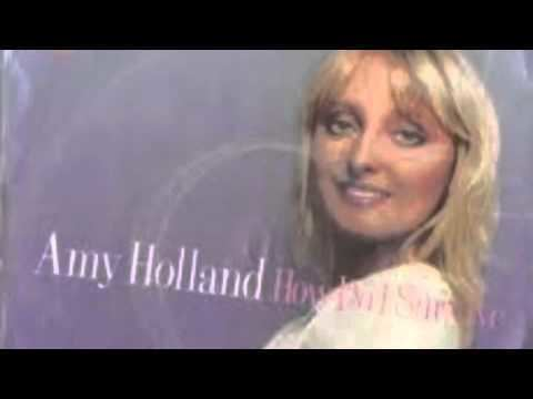 Amy Holland Amy Holland interview 1983 Mrs Michael McDonald back in