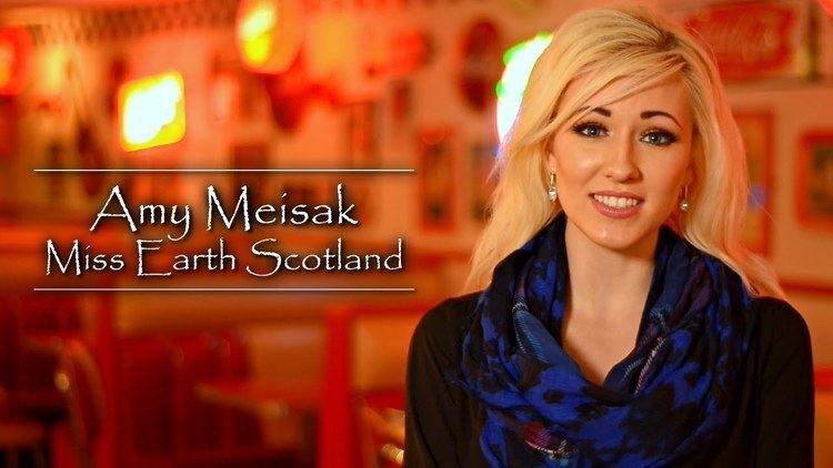 Amy Meisak Amy Meisak Miss Earth Scotland 2015 Film by UXXV Media YouTube