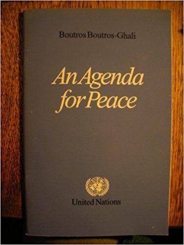 An Agenda for Peace httpsimagesnasslimagesamazoncomimagesI4