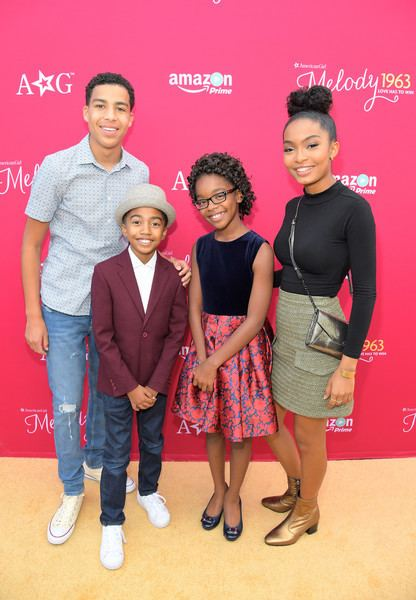 An American Girl Story - Melody 1963: Love Has to Win Marsai Martin Premieres An American Girl Story Melody 1963 Love