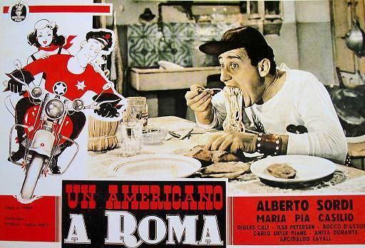 An American in Rome Un americano a Roma 1954 White Noiz