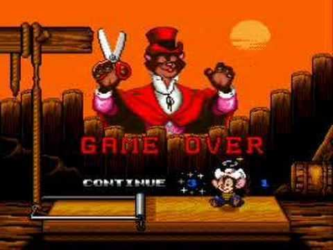 An American Tail: Fievel Goes West (video game) An American Tail Fievel Goes West Game Over YouTube