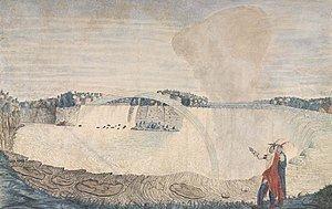 An East View of the Great Cataract of Niagara httpsuploadwikimediaorgwikipediacommonsthu