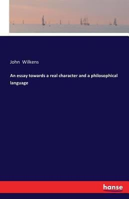 An Essay towards a Real Character and a Philosophical Language t1gstaticcomimagesqtbnANd9GcTD8tSfCpdHKLjeZ