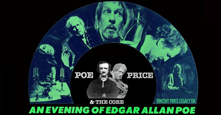 An Evening of Edgar Allan Poe An Evening with Edgar Allan Poe Vincent Price Legacy UK