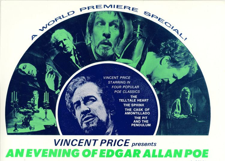 An Evening of Edgar Allan Poe An Evening of Edgar Allan Poe 1970 A Gallery of Lobby Cards