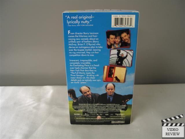 An Everlasting Piece An Everlasting Piece VHS 2002 Barry McEvoy Anna Friel