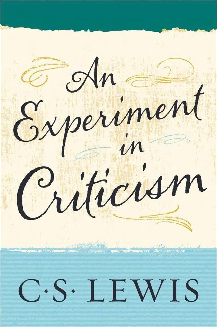 An Experiment in Criticism t0gstaticcomimagesqtbnANd9GcQLihH9uzwtaTctEA