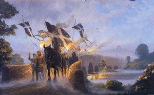 An Gof The Battle of Deptford Bridge in 1497