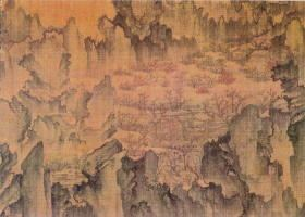 An Gyeon Mongyudowondo great Korean painting