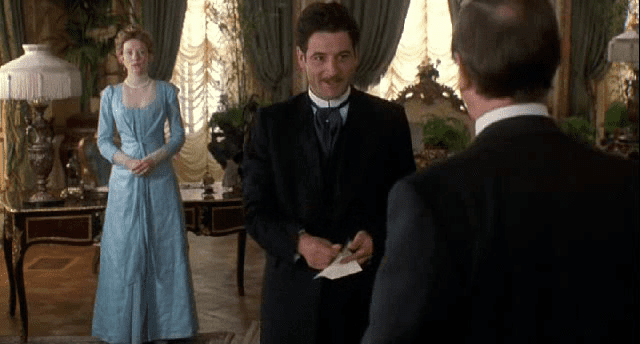 An Ideal Husband (1998 film) movie scenes Moore s casting along with Blanchett s makes the film merely three fifths British Everyone s accents including Moore s affected and sassy rendition