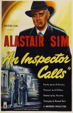 An Inspector Calls (1954 film) movie poster