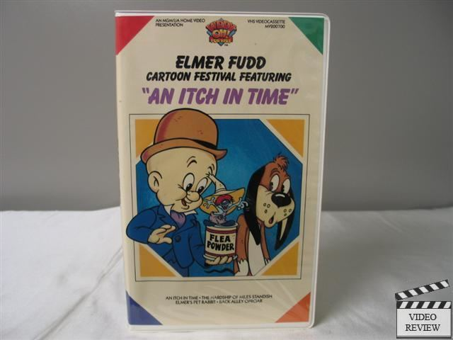 An Itch in Time Elmer Fudd Cartoon Festival featuring An Itch In Time VHS