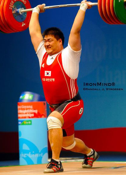 An Yong-kwon 2009 World Weightlifting Championships An YongKwon Wins the Supers