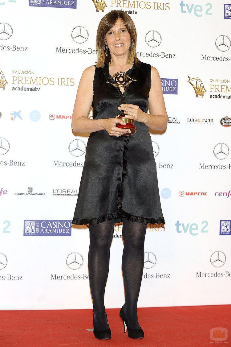 Ana Blanco Ana Blanco Premio Iris 2013 al Mejor Presentador de